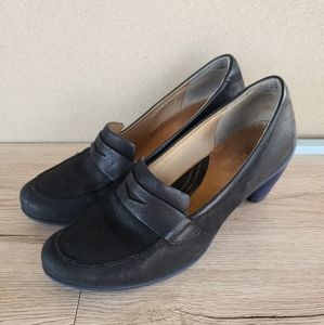 Ecco Sculptered 65 Loafer Black with Mazarine Sole